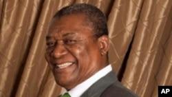 Evaristo de Carvalho, président du Sao Tomé-et-Principe, août 2007