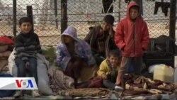 Sınırdaki Mülteciler Temel İhtiyaçlardan Yoksun