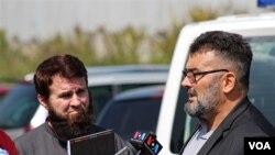 Abdulaziz Osman Kekić nakon ročišta pred Sudom BiH.