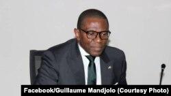 Guillaume Mandjolo ministre ya kala ya Coopération internationale ya RDC, Kinshasa, 28 juillet 2020, (Facebook/Guillaume Mandjolo)