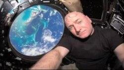 اسکات کلی از ماموریت فضایی ۳۴۰ روزه به زمین بازمی گردد