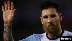 Tiền đạo Lionel Messi.
