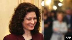 La correspondante en Chine de l'hebdomadaire français L'Obs, Ursula Gauthier.