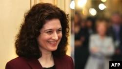 法國記者高潔 (資料圖片)
