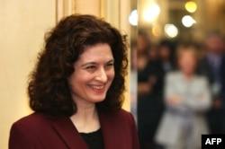 资料照:法国记者Ursula Gauthier (中文名字高洁)