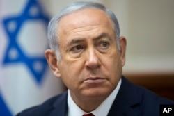 베냐민 네타냐후 이스라엘 총리.