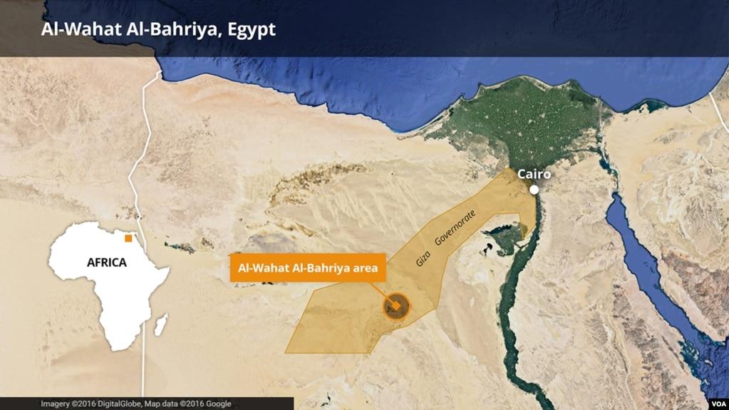 开罗西面沙漠地带