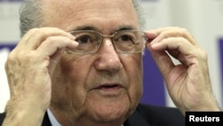 Presiden FIFA Sepp Blatter tidak khawatir dengan kesiapan Brazil menyelenggarakan Piala Dunia 2014 mendatang (foto: dok).
