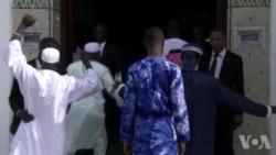 Ali Bongo prie pour la paix le jour de la Tabaski