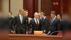 Путін та Обама поговорили у Китаї