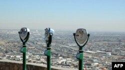 Ciudad Juarez, một thành phố biên giới nơi thường xuyên xảy ra các vụ bạo động liên quan tới ma túy