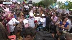 Muhalefetten Caracas'ta Maduro Aleyhinde Gösteriler