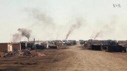 Syria's Makeshift Oil Refineries Raise Health, Environmental Concerns