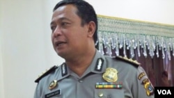 Juru bicara Polda Aceh, Kombes Pol Gustav Leo (Foto: VOA/Budi Nahaba)