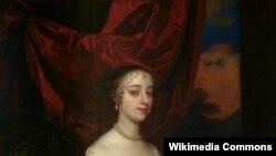 Portrait of Margaret Hughes, 1672