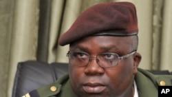 4月17日畿內亞比紹的軍方發言人