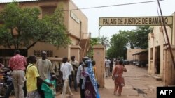 Le Palais e jusitce de Bamako, 28 août 2012.