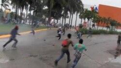Caos en Acapulco