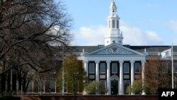 2020年4月22日哈佛大學校園。