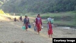 စစ္ေရွာင္ဒုကၡသည္မ်ား (photo-Rakhine Ethnics Congress)