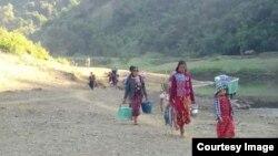 စစ္ေျပးဒုကၡသည္မ်ား (photo-Rakhine Ethnics Congress)