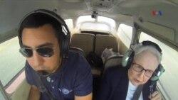Nenek Usia 91 Belajar Menerbangkan Pesawat