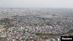 Sài Gòn, nhìn từ trên cao.