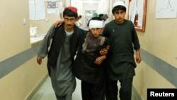 Dečak povređen u napadu u Kandaharu, 17. maj 2019.