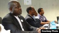 Rafael Morais, coordenador do SOS Habitat em Luanda