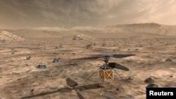 Вертолет на солнечных батареях