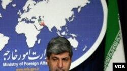 Jurubicara Kementerian Luar Negeri Iran, Ramin Mehmanparast