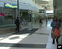 Modern shopping mall in Soweto