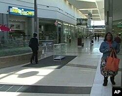Modern shopping mall in Soweto