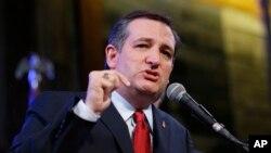泰德·克鲁兹(Ted Cruz)现任国会参议员、共和党总统参选人。