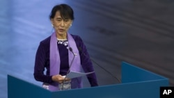 Burma's Aung San Suu Kyi on Tour of Europe