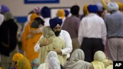Memorials for Victims of Wisconsin Sikh Temple Shooting