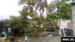 Fırtınanın vurduğu ülkelerden biri de Mozambik