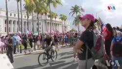 Etazini: Sitwayen nan Porto Rico Ap Mande Demisyon Gouvènè a