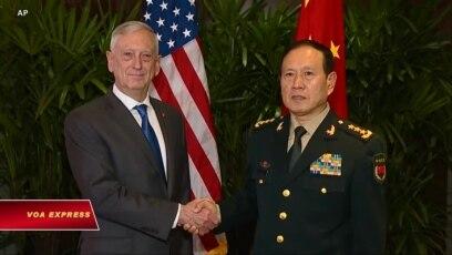 Quan hệ quân sự Mỹ-Trung bị chi phối bởi thương chiến