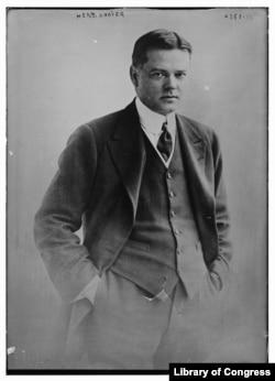 Herbert Hoover in 1917