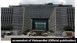 Trụ sở Bộ Công an khánh thành hồi tháng 12/2011