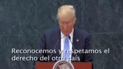 Donald Trump insiste en construir el muro