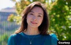 """加州""""硅谷华人协会基金会""""会长陆滢"""