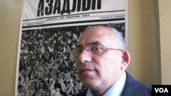 """""""Azadlıq"""" qəzetinin redaktor müavini Rahim Hacı"""