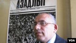 """""""Azadlıq"""" qəzetinin redaktor müavini Rahim Hacıyev"""