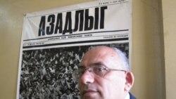 Rahim Hacıyevlə Qasid firmasının qarşısındakı aksiya barədə müsahibə
