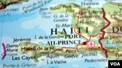 Kat jeyografik peyi D Ayiti