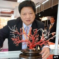 台湾区珠宝工业同业公会理事长萧新才