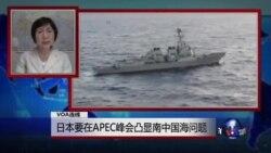 VOA连线:日本欲在APEC峰会提出南中国海问题