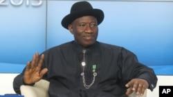 Presiden Nigeria Goodluck Jonathan telah mengumumkan keadaan darurat di tiga negara bagian, Selasa (14/5).